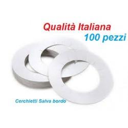 Cerchietti Salvabordo per Scaldacera conf. 100 pz